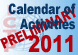 2011 Preliminary Scientific Calendar